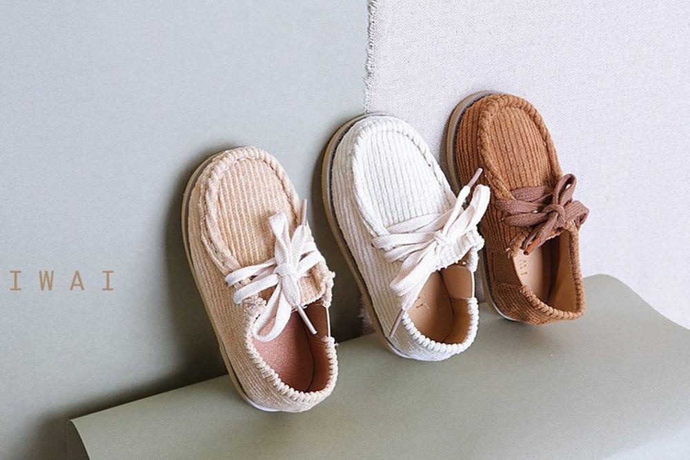 IWAI - BRAND - Korean Children Fashion - #Kfashion4kids - Plain Loafer