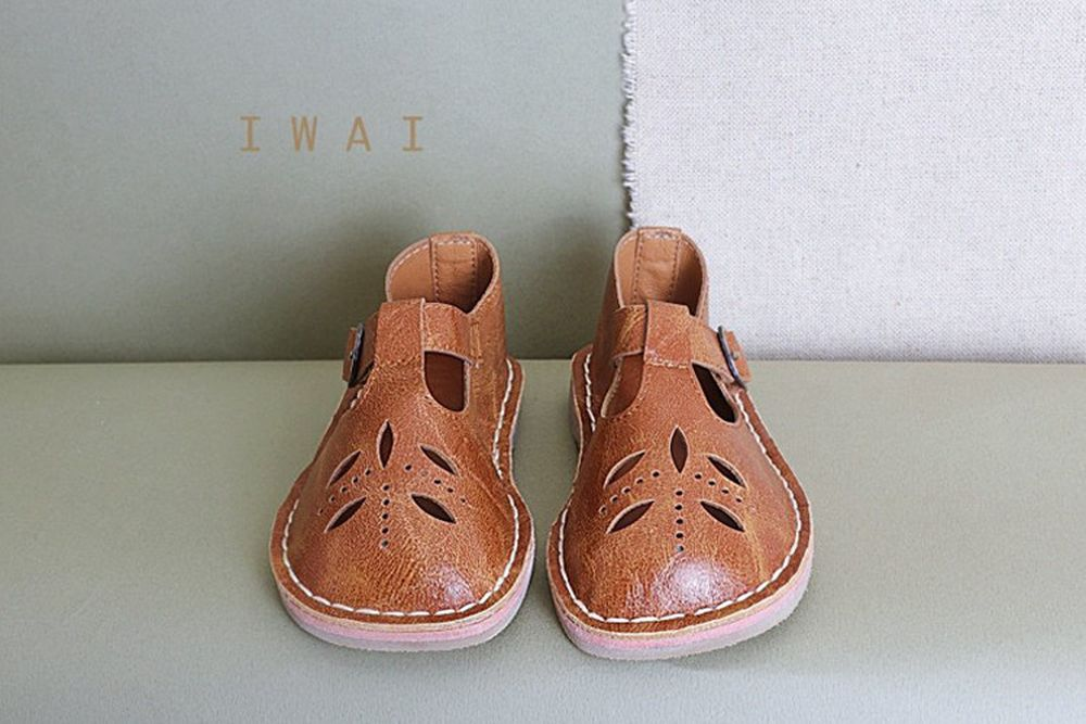 IWAI - BRAND - Korean Children Fashion - #Kfashion4kids - Cinamon Flat