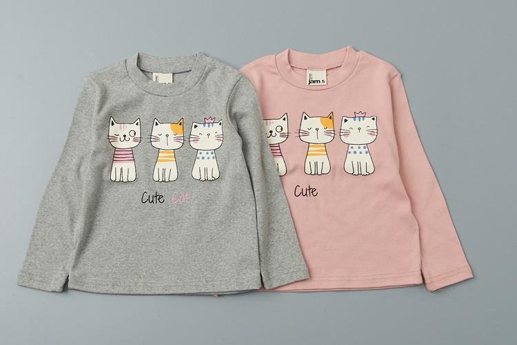 JAM - BRAND - Korean Children Fashion - #Kfashion4kids - Cats Tee