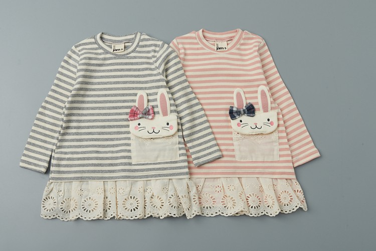 JAM - BRAND - Korean Children Fashion - #Kfashion4kids - Rabbit Pocket One-piece