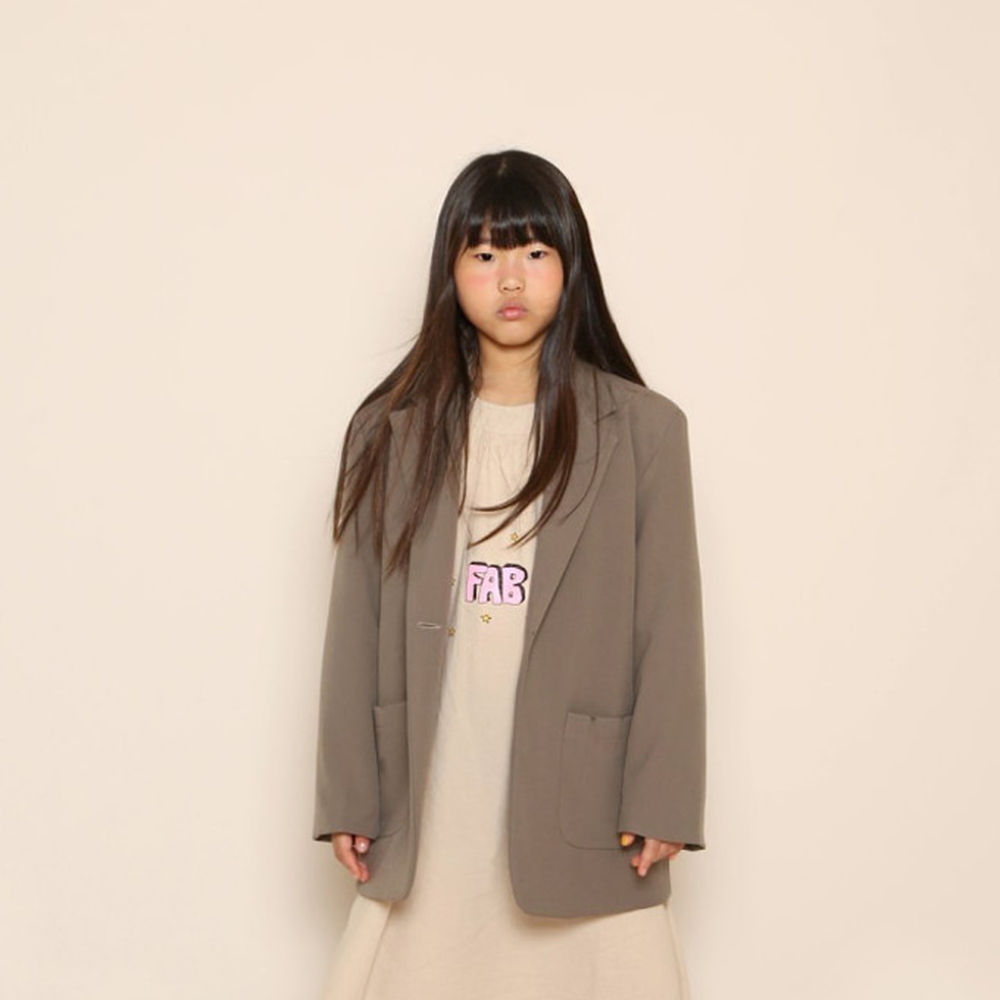 JENNY BASIC - BRAND - Korean Children Fashion - #Kfashion4kids - Plenty Jacket