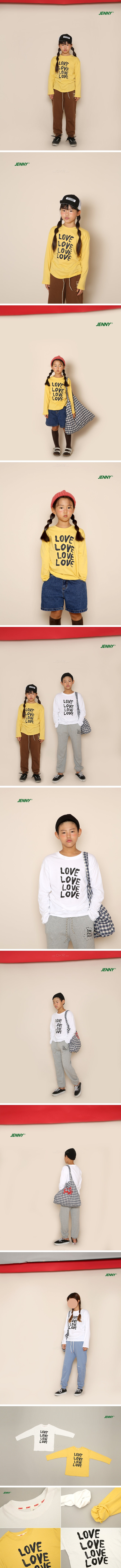 JENNY BASIC - Korean Children Fashion - #Kfashion4kids - Love Tee - 2