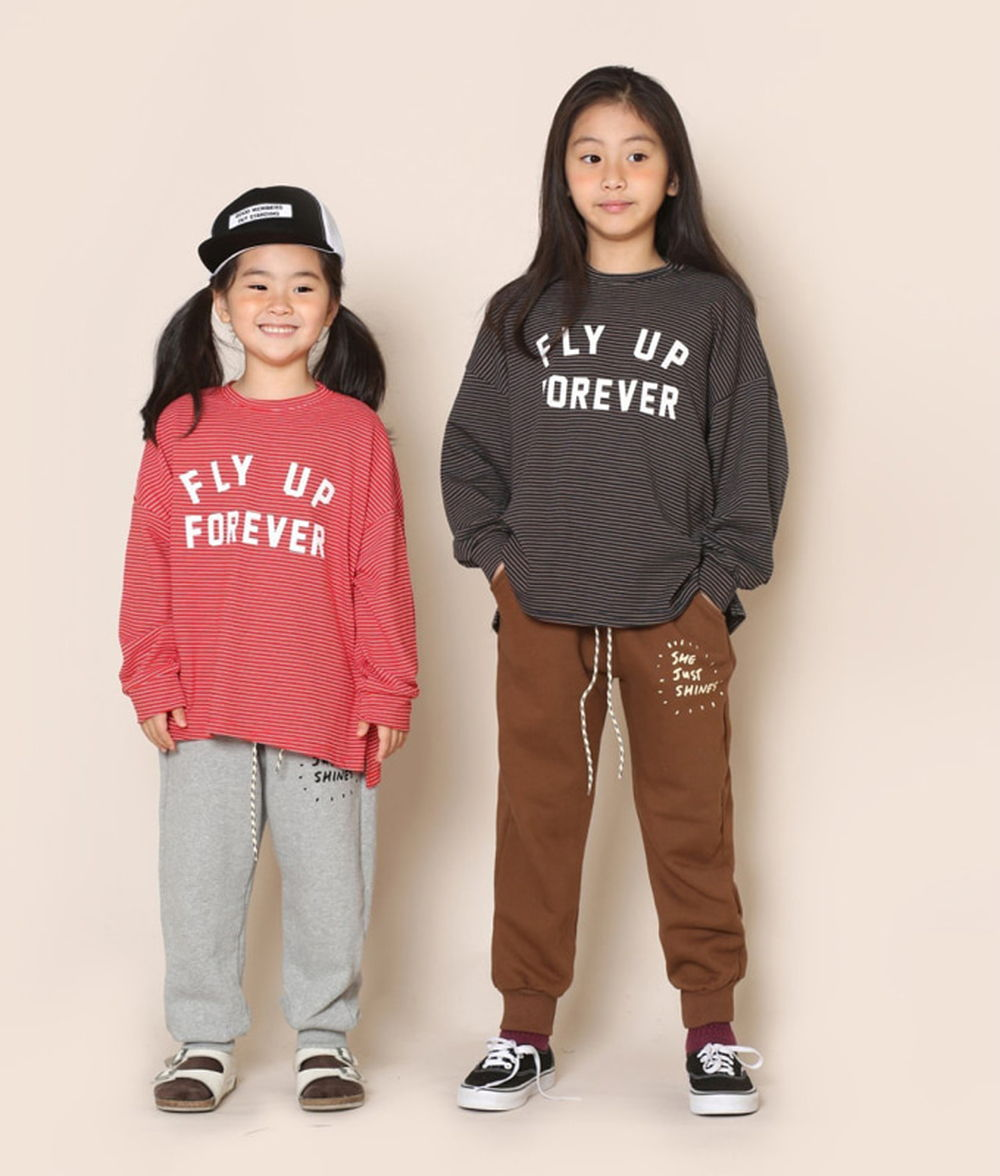 JENNY BASIC - BRAND - Korean Children Fashion - #Kfashion4kids - Sun Training Pants
