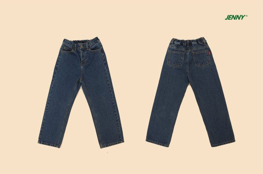JENNY BASIC - Korean Children Fashion - #Kfashion4kids - Basic Denim Pants