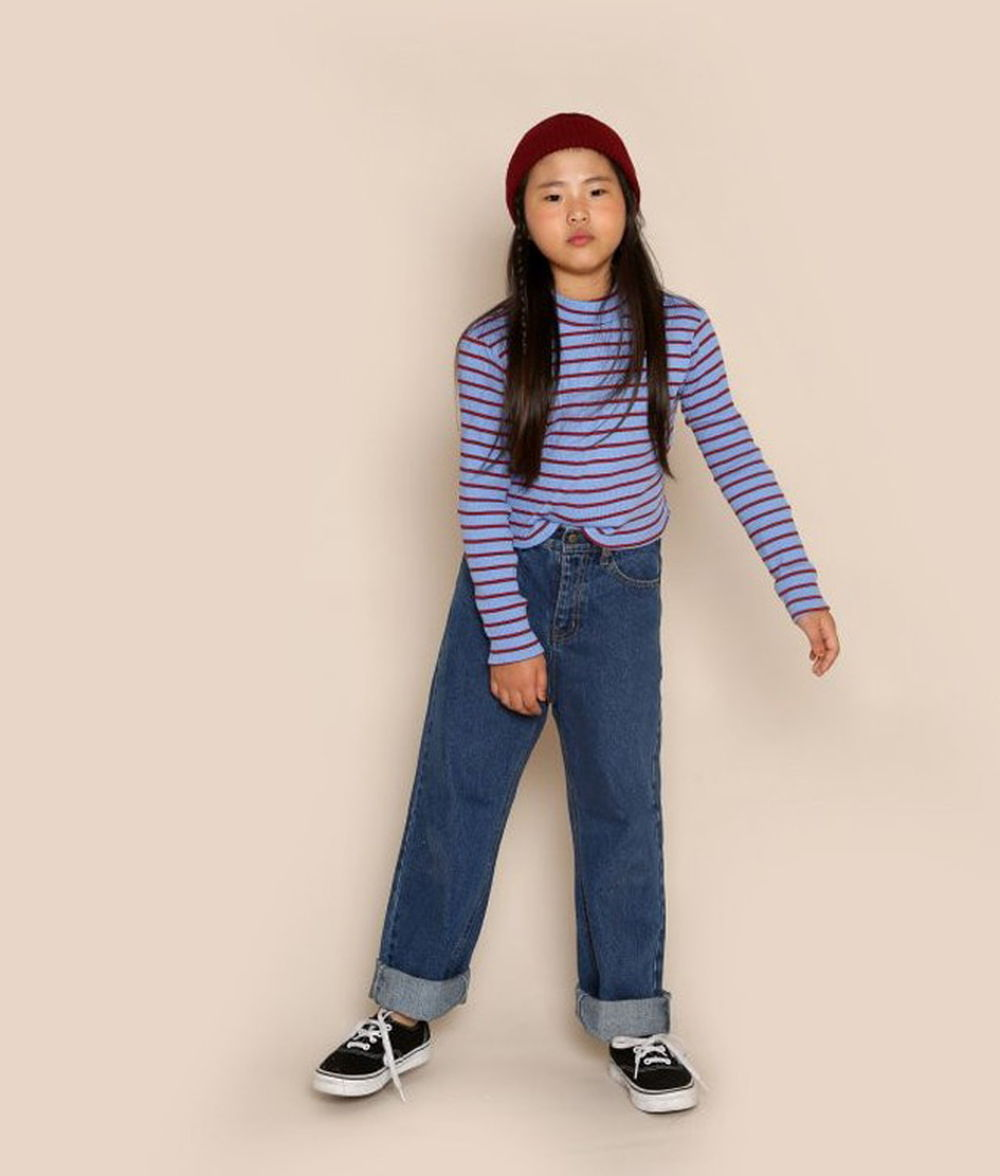 JENNY BASIC - BRAND - Korean Children Fashion - #Kfashion4kids - Basic Denim Pants