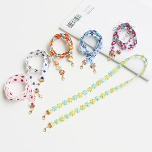 JIREH BOW - BRAND - Korean Children Fashion - #Kfashion4kids - Mini Flower Mask Strap [set of 6]