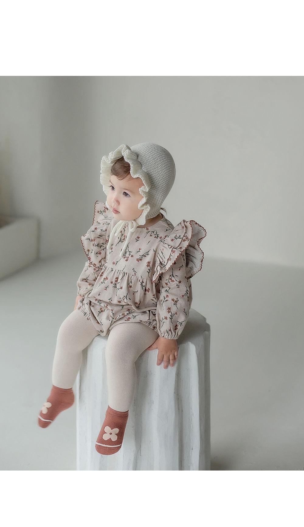 KIDS CLARA - Korean Children Fashion - #Kfashion4kids - Mumu Baby Socks Set [set of 5]