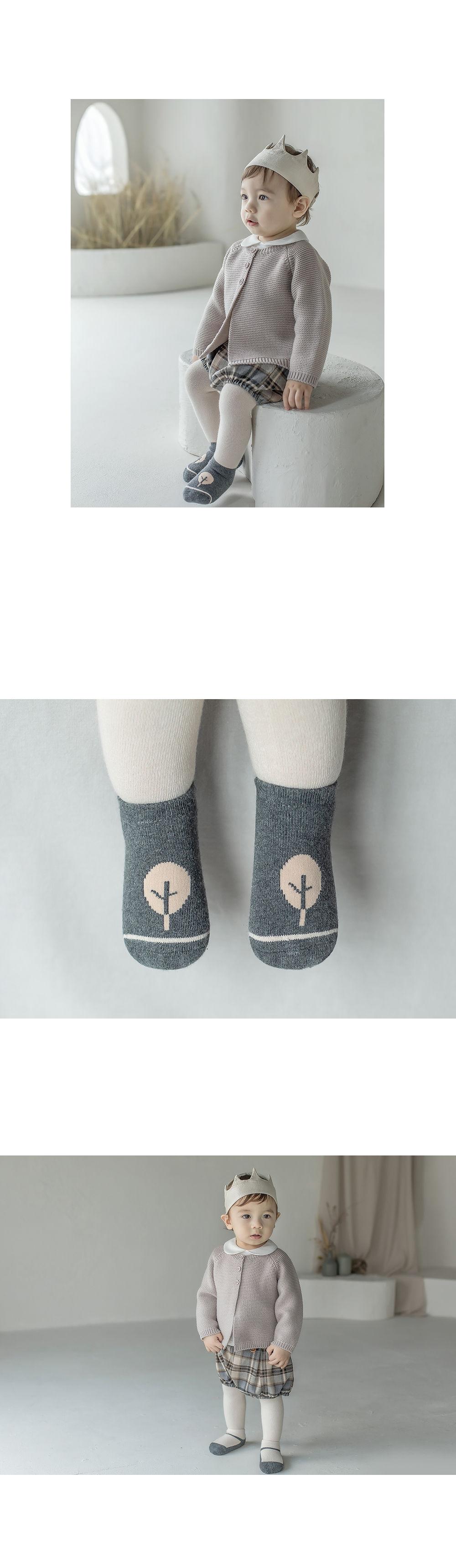 KIDS CLARA - Korean Children Fashion - #Kfashion4kids - Mumu Baby Socks Set [set of 5] - 5