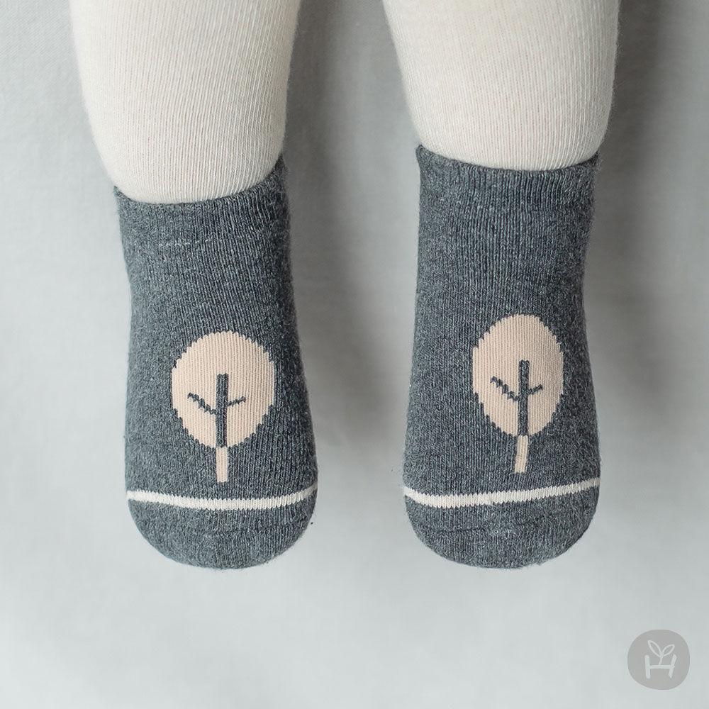 KIDS CLARA - BRAND - Korean Children Fashion - #Kfashion4kids - Mumu Baby Socks Set [set of 5]