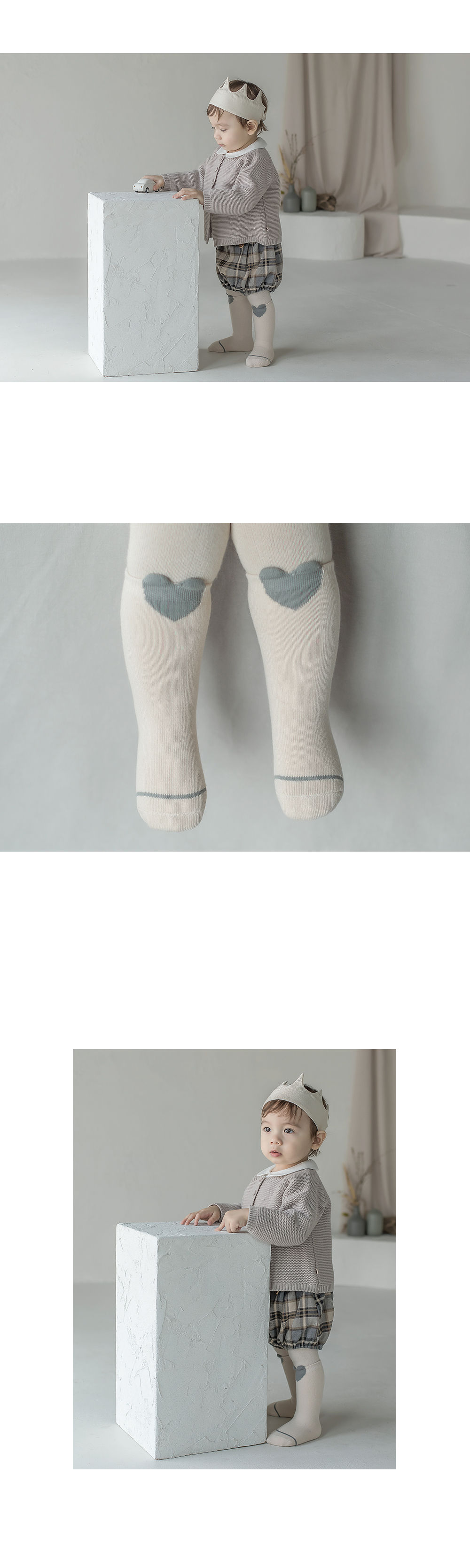 KIDS CLARA - Korean Children Fashion - #Kfashion4kids - Rio Baby Knee Socks [set of 5] - 3