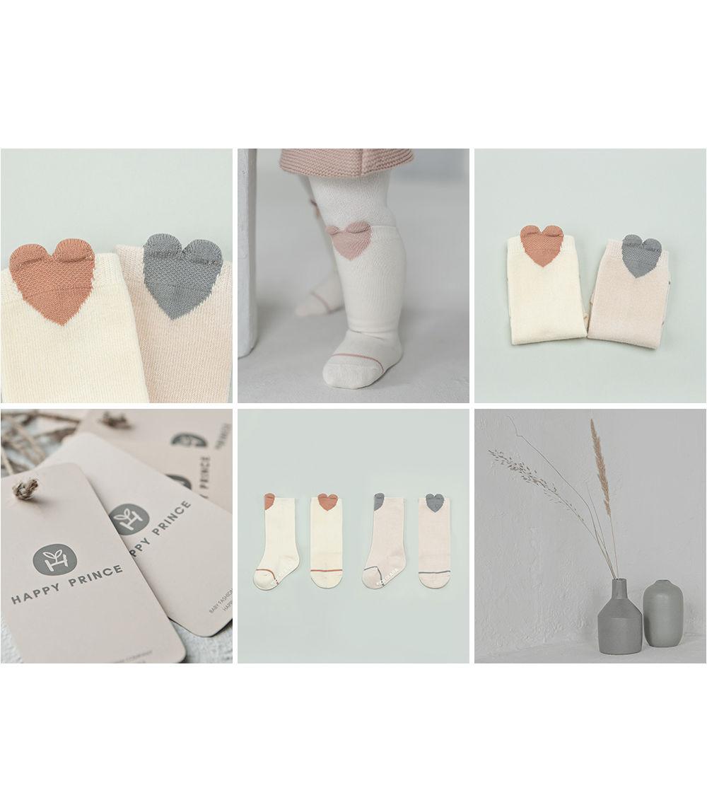 KIDS CLARA - Korean Children Fashion - #Kfashion4kids - Rio Baby Knee Socks [set of 5] - 4