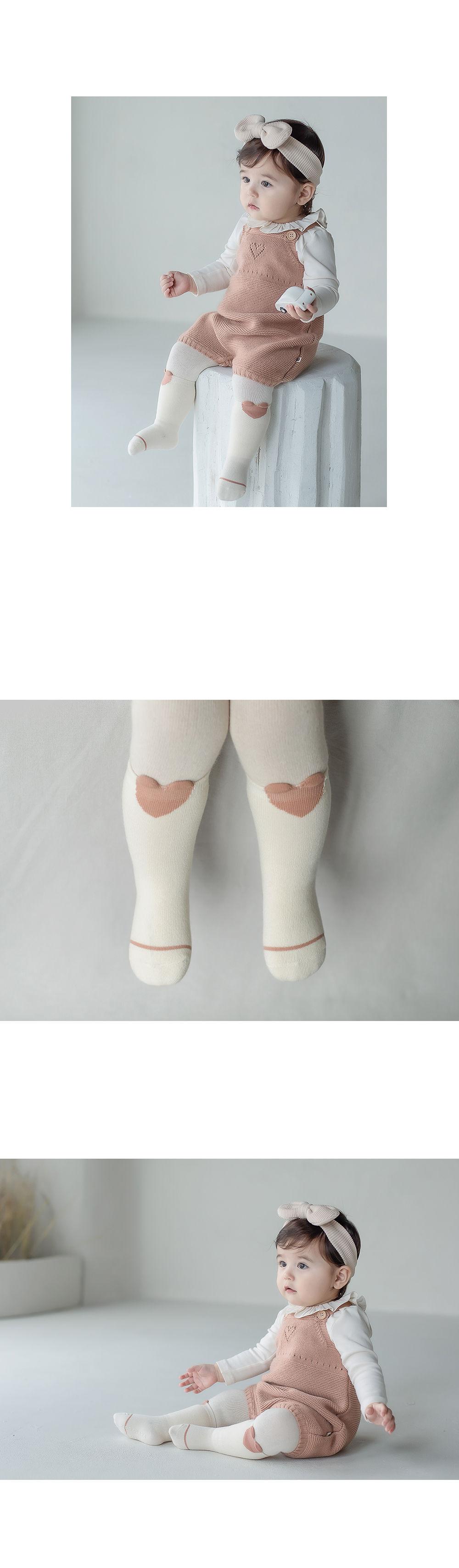KIDS CLARA - Korean Children Fashion - #Kfashion4kids - Rio Baby Knee Socks [set of 5] - 5