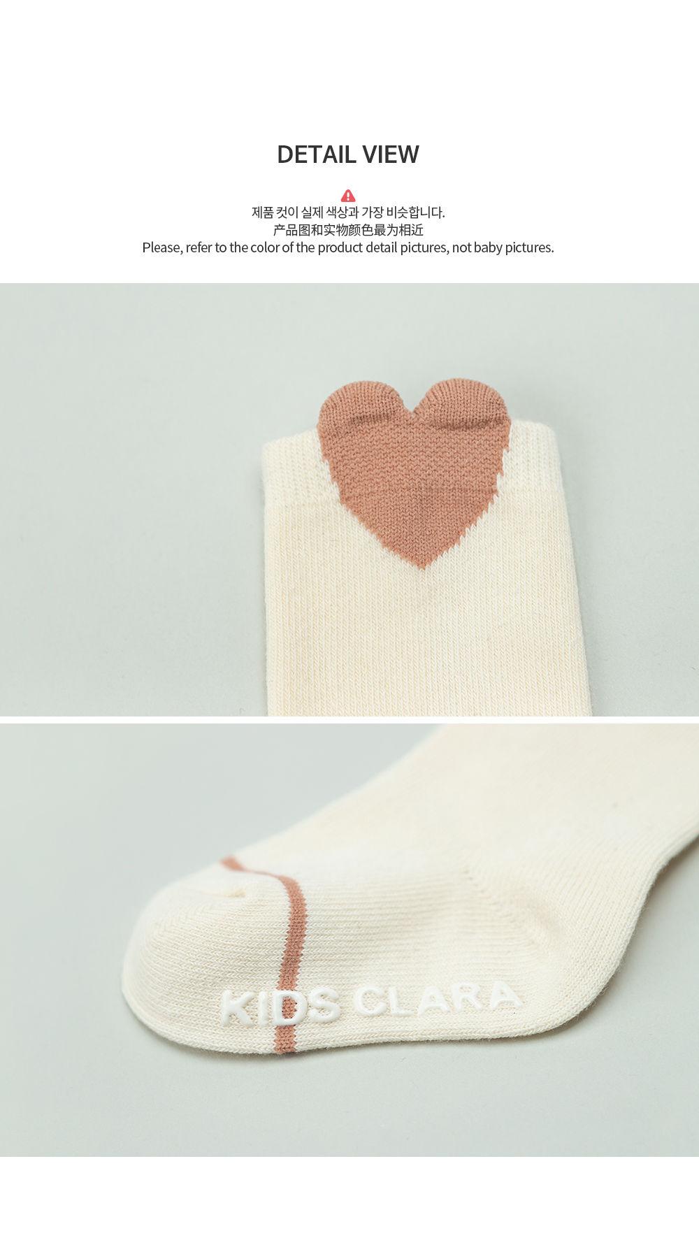 KIDS CLARA - Korean Children Fashion - #Kfashion4kids - Rio Baby Knee Socks [set of 5] - 6
