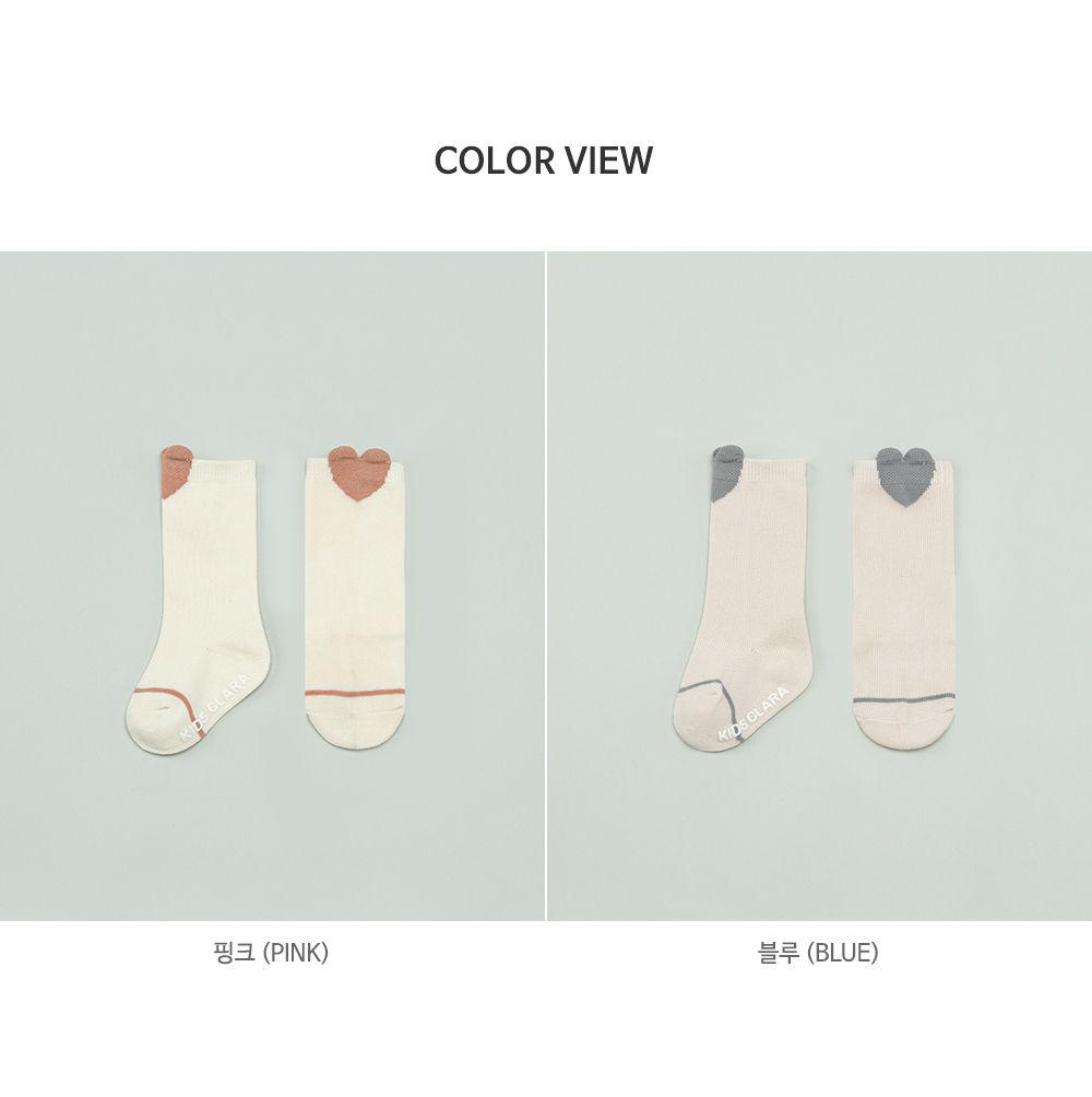KIDS CLARA - Korean Children Fashion - #Kfashion4kids - Rio Baby Knee Socks [set of 5] - 7