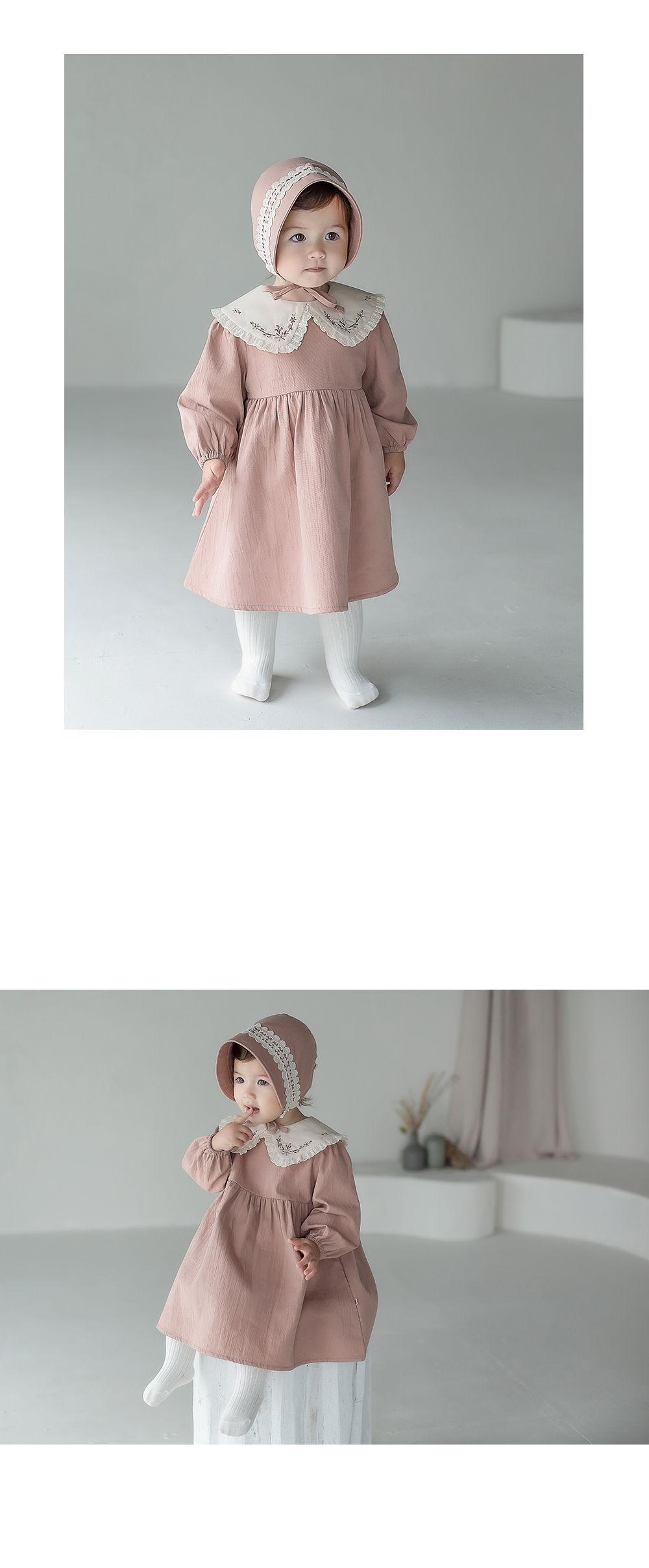 KIDS CLARA - Korean Children Fashion - #Kfashion4kids - Creamy Baby Tights - Cream [set of 5] - 2