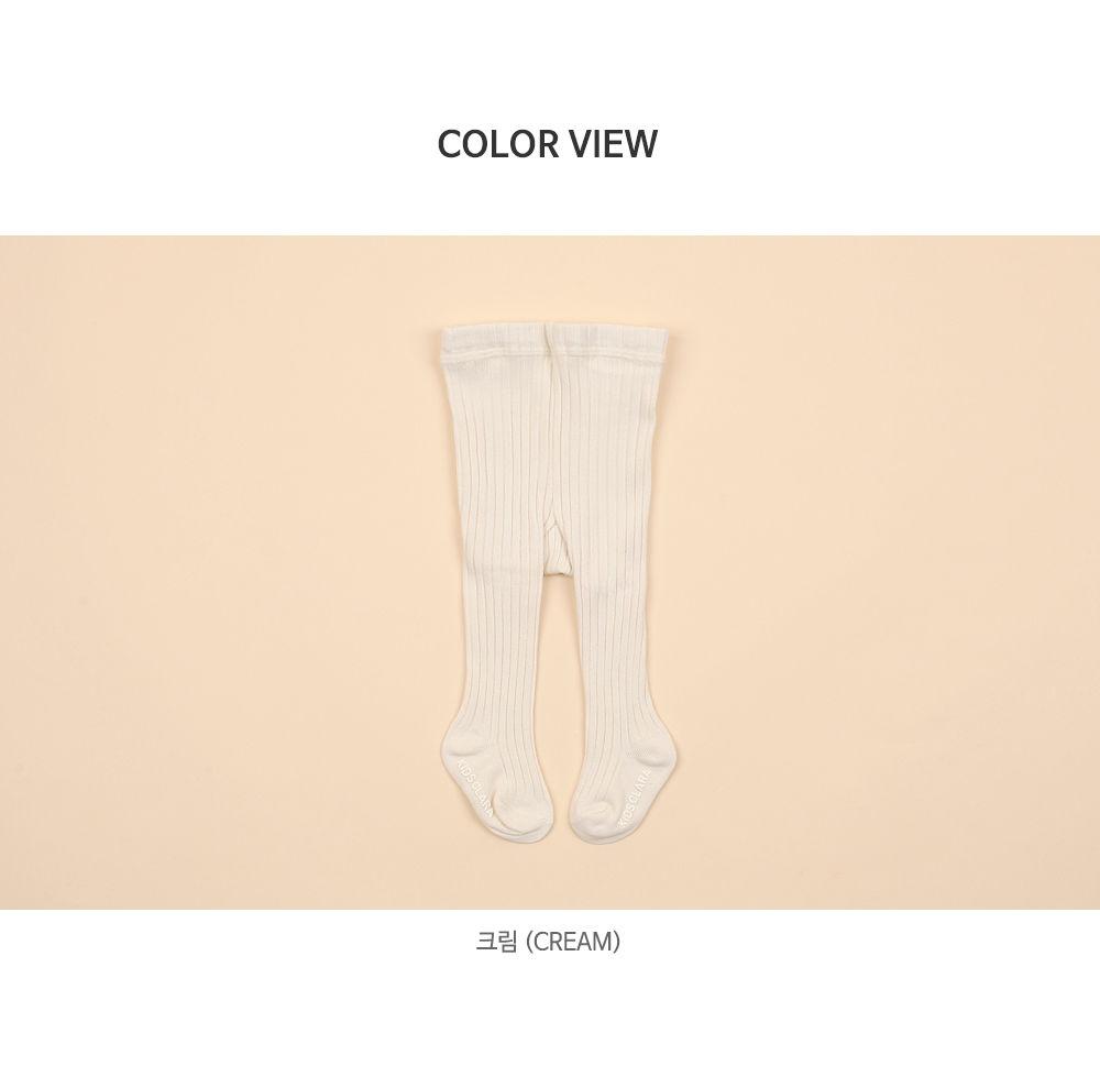 KIDS CLARA - Korean Children Fashion - #Kfashion4kids - Creamy Baby Tights - Cream [set of 5] - 6