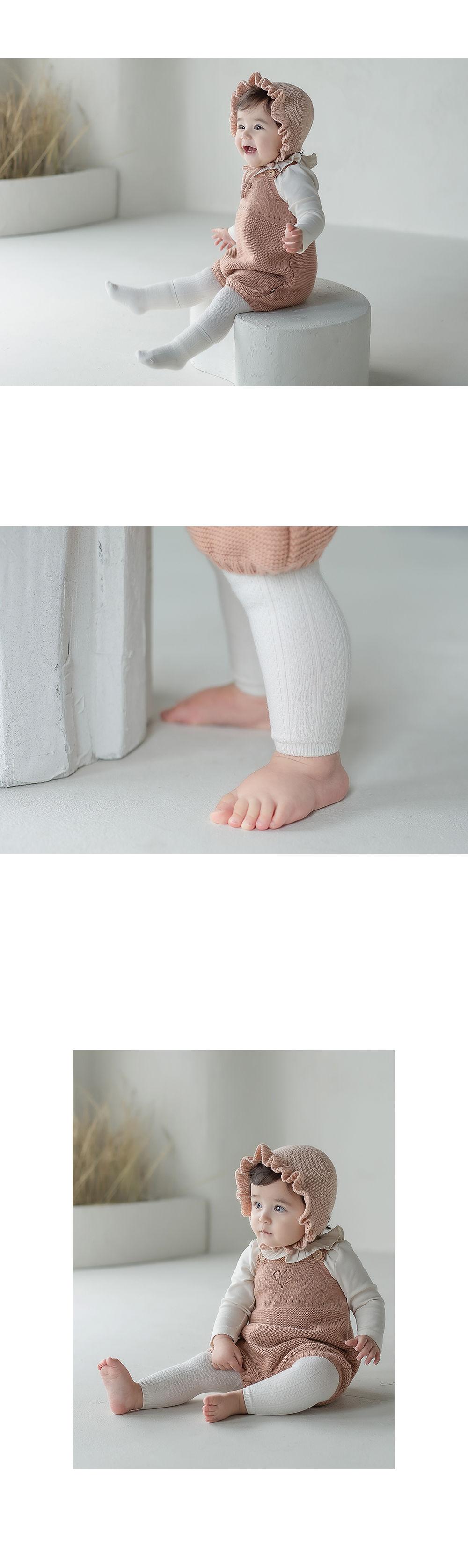KIDS CLARA - Korean Children Fashion - #Kfashion4kids - Premium May Baby Legging Set [set of 5] - 3
