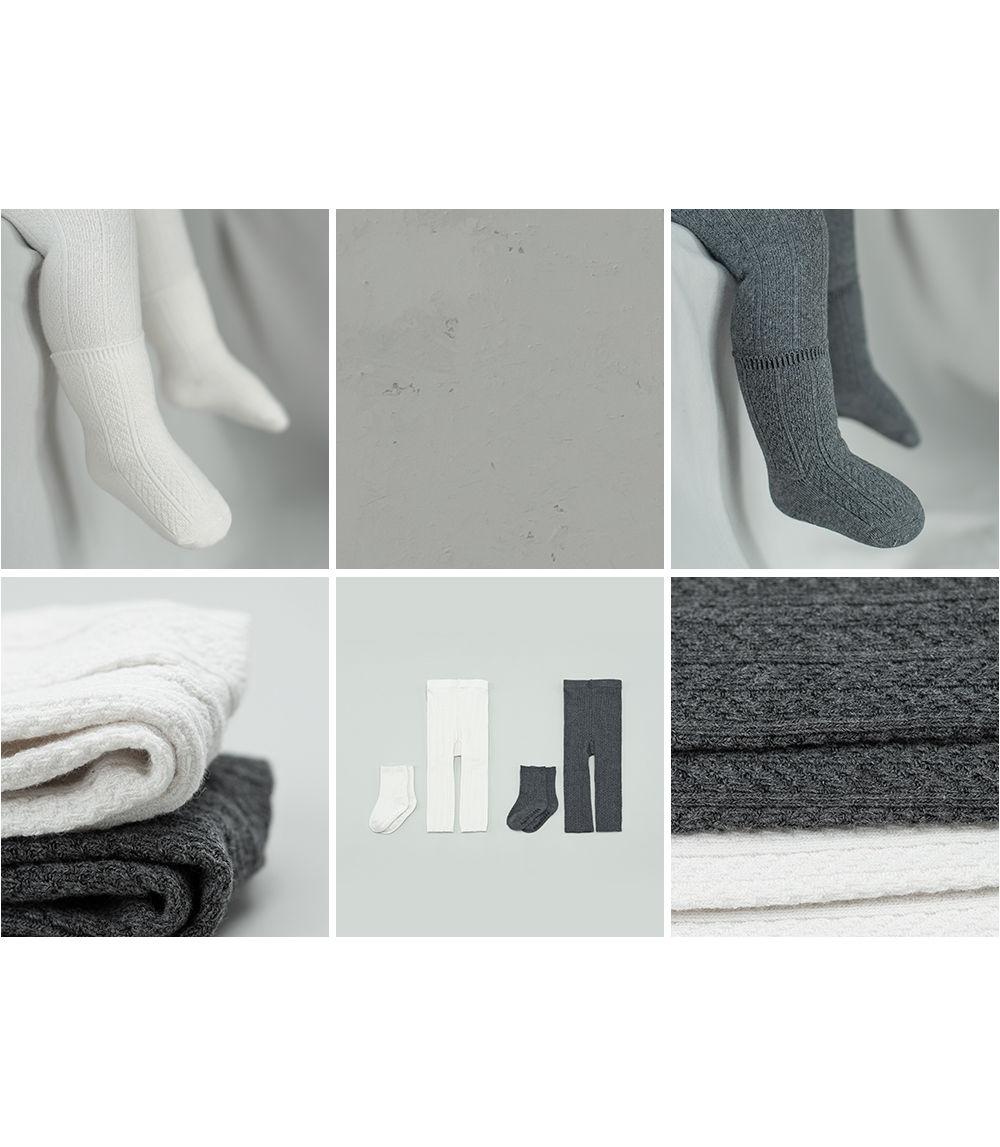 KIDS CLARA - Korean Children Fashion - #Kfashion4kids - Premium May Baby Legging Set [set of 5] - 4