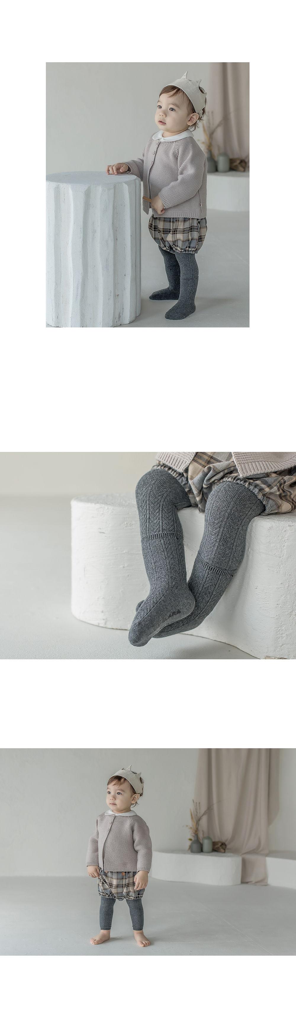 KIDS CLARA - Korean Children Fashion - #Kfashion4kids - Premium May Baby Legging Set [set of 5] - 5