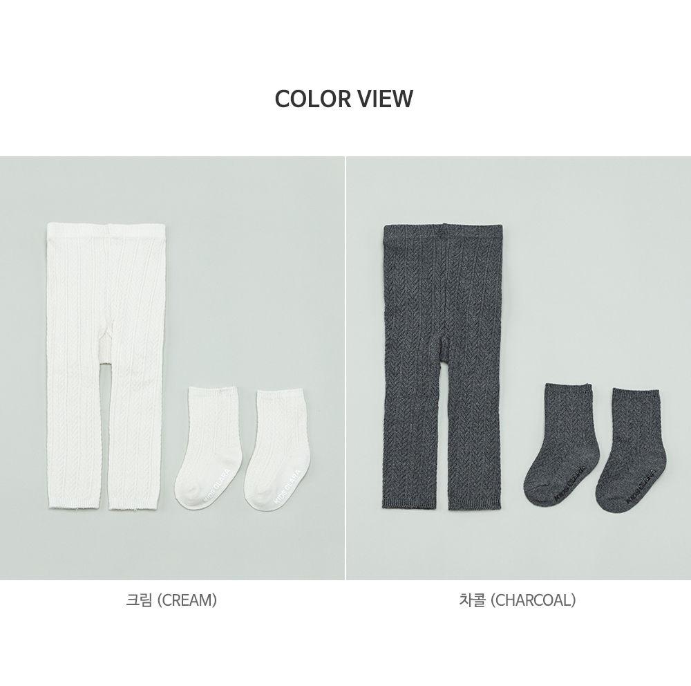 KIDS CLARA - Korean Children Fashion - #Kfashion4kids - Premium May Baby Legging Set [set of 5] - 7