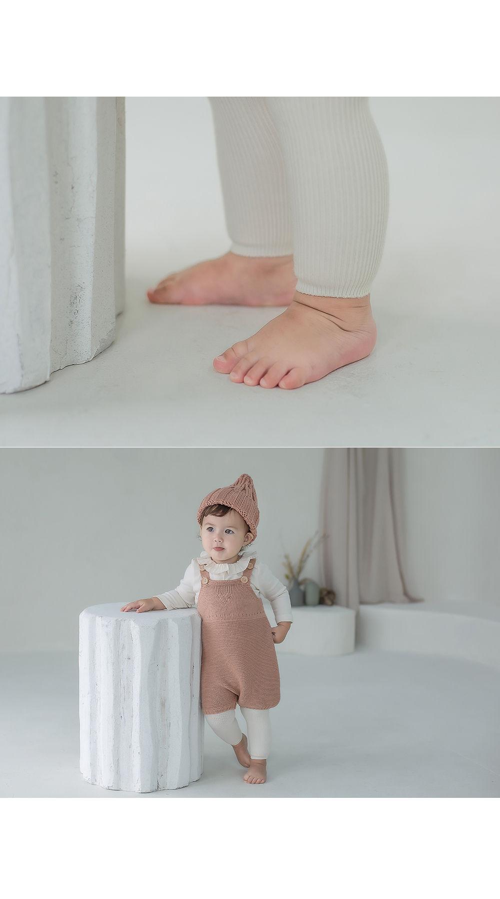 KIDS CLARA - Korean Children Fashion - #Kfashion4kids - Rodina Leggings Set [set of 5] - 3