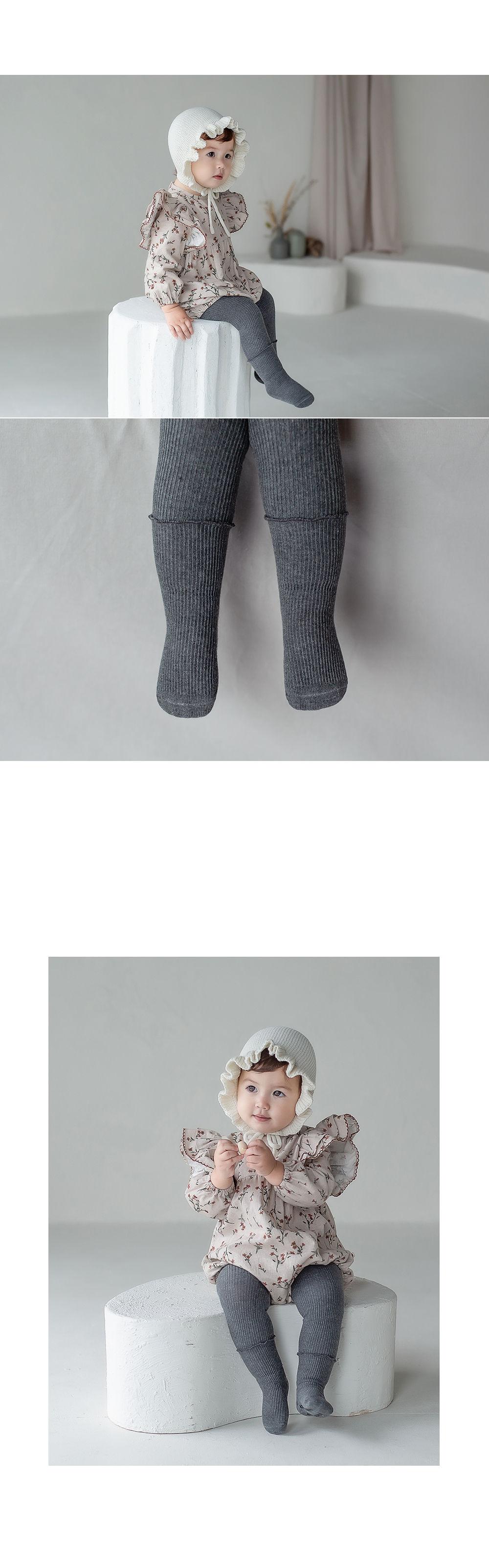 KIDS CLARA - Korean Children Fashion - #Kfashion4kids - Rodina Leggings Set [set of 5] - 6