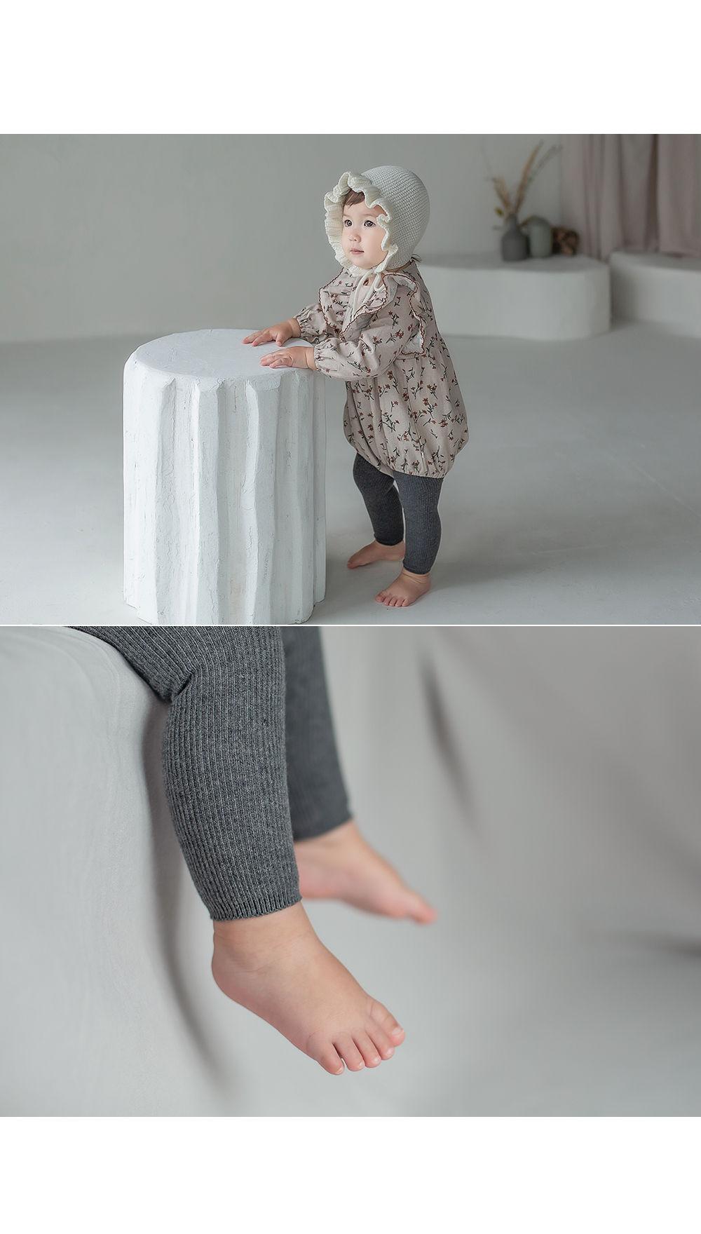 KIDS CLARA - Korean Children Fashion - #Kfashion4kids - Rodina Leggings Set [set of 5] - 7