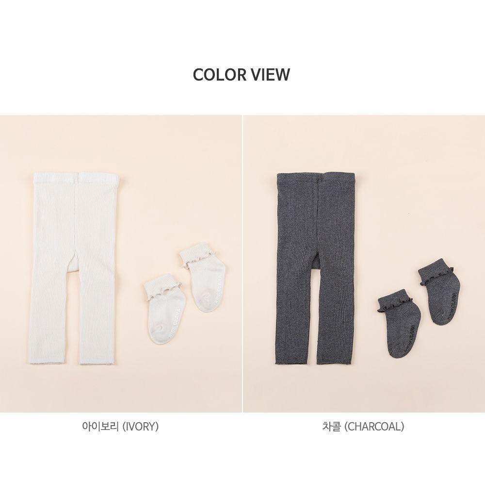 KIDS CLARA - Korean Children Fashion - #Kfashion4kids - Rodina Leggings Set [set of 5] - 9