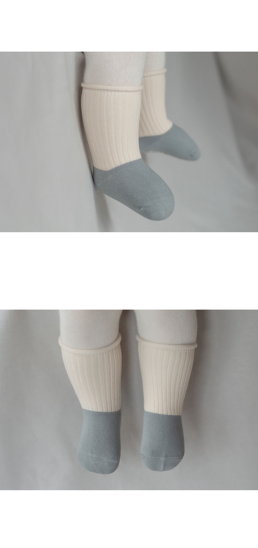 KIDS CLARA - Korean Children Fashion - #Kfashion4kids - Amber Rolling Baby socks [set of 5] - 6