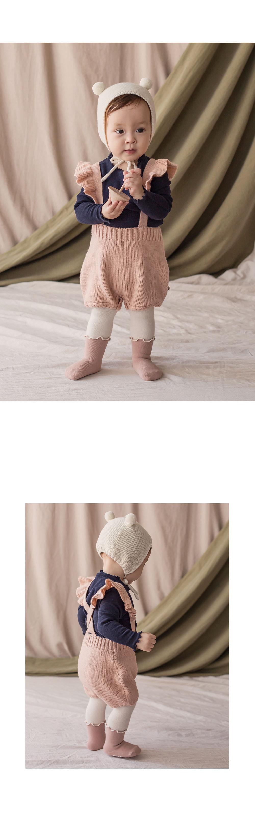KIDS CLARA - Korean Children Fashion - #Kfashion4kids - Bobo Baby Socks [set of 5] - 4