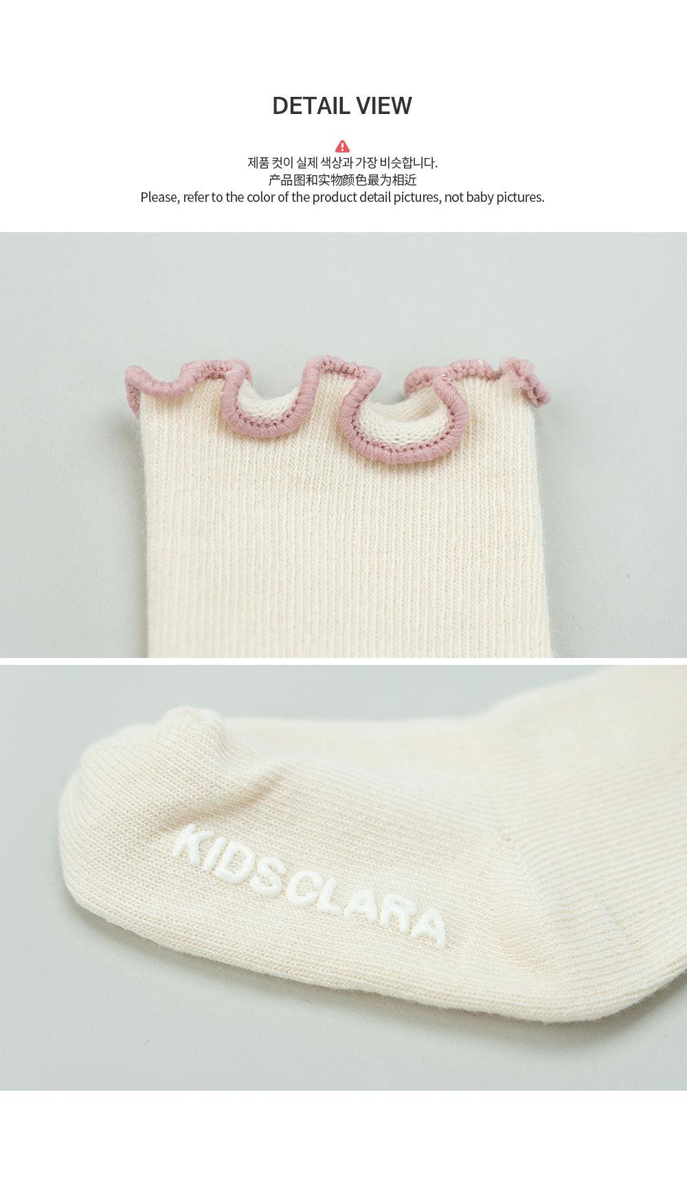KIDS CLARA - Korean Children Fashion - #Kfashion4kids - Bobo Baby Socks [set of 5] - 6