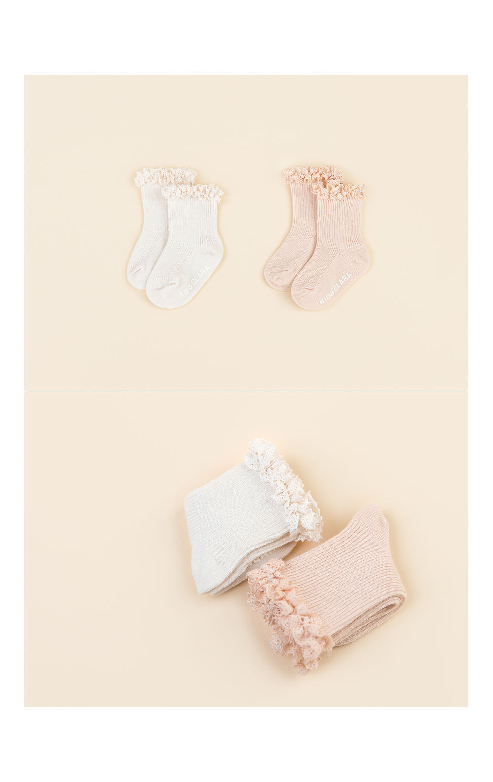 KIDS CLARA - Korean Children Fashion - #Kfashion4kids - Josh Baby Socks [set of 5] - 4