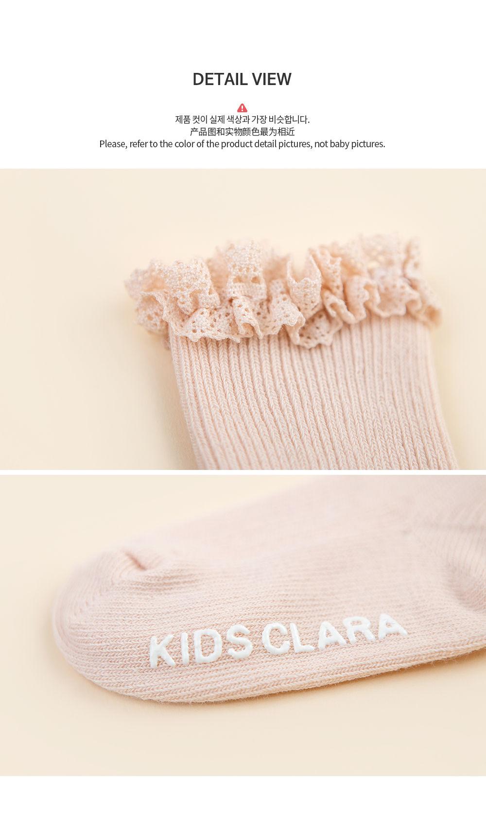 KIDS CLARA - Korean Children Fashion - #Kfashion4kids - Josh Baby Socks [set of 5] - 7