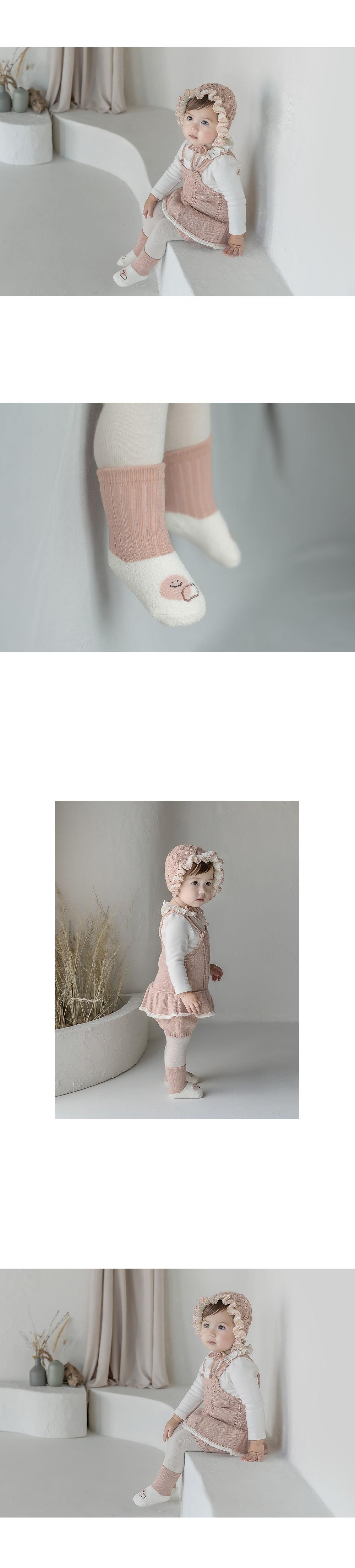 KIDS CLARA - Korean Children Fashion - #Kfashion4kids - Livia Baby Socks [set of 5] - 3