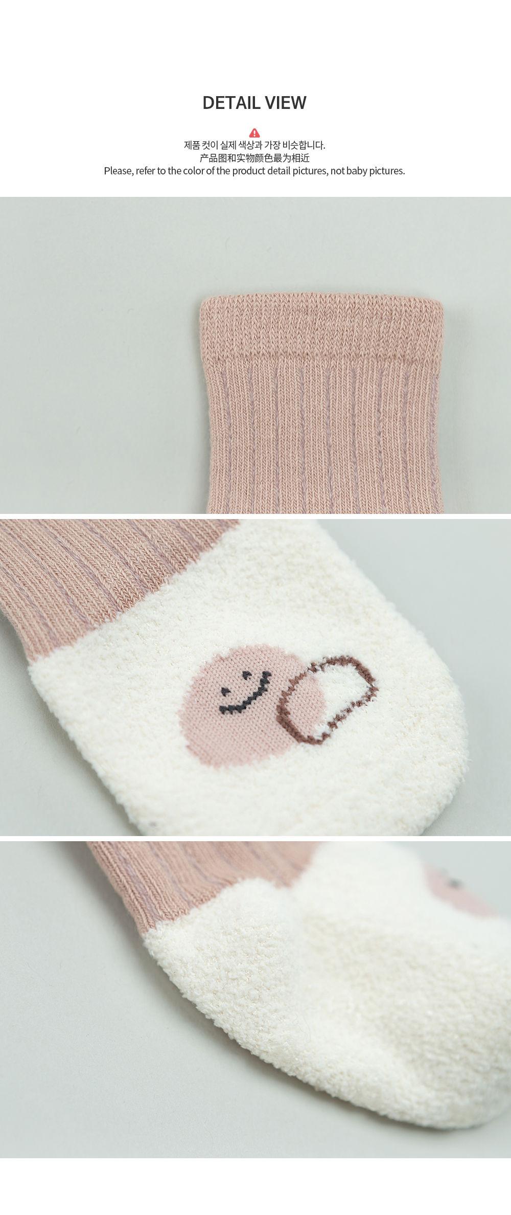 KIDS CLARA - Korean Children Fashion - #Kfashion4kids - Livia Baby Socks [set of 5] - 7