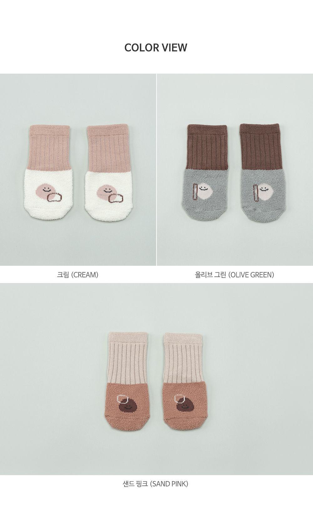 KIDS CLARA - Korean Children Fashion - #Kfashion4kids - Livia Baby Socks [set of 5] - 8