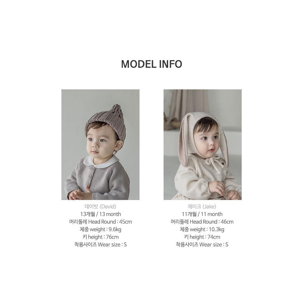 KIDS CLARA - Korean Children Fashion - #Kfashion4kids - Raki Baby Socks [set of 5] - 10