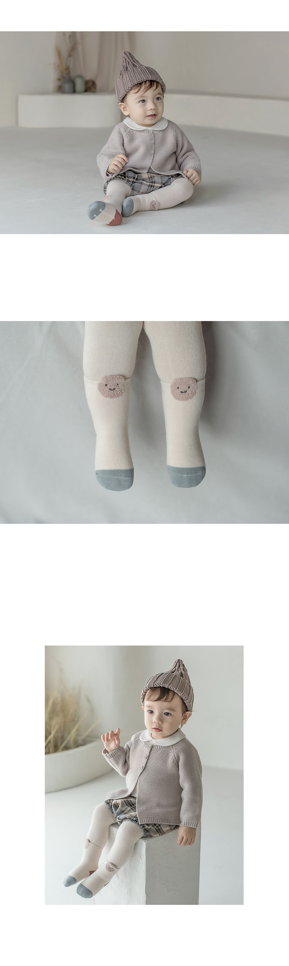KIDS CLARA - Korean Children Fashion - #Kfashion4kids - Raki Baby Socks [set of 5] - 3