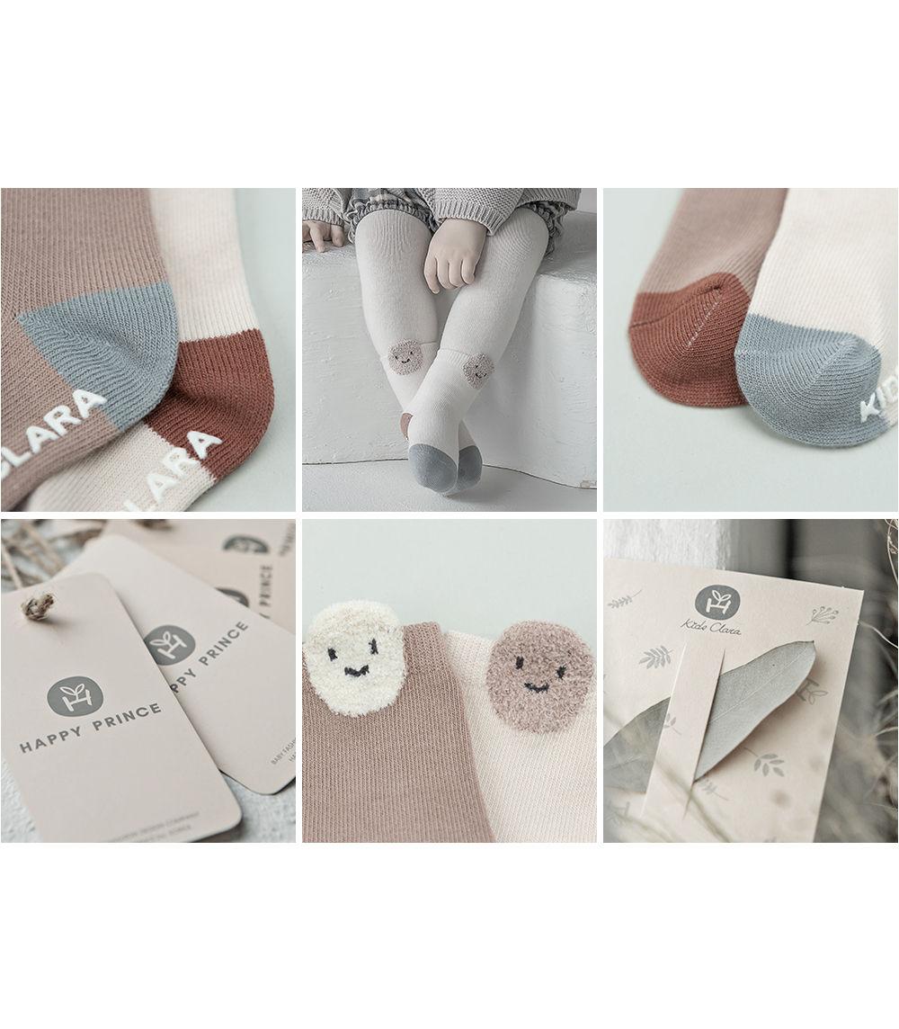 KIDS CLARA - Korean Children Fashion - #Kfashion4kids - Raki Baby Socks [set of 5] - 4