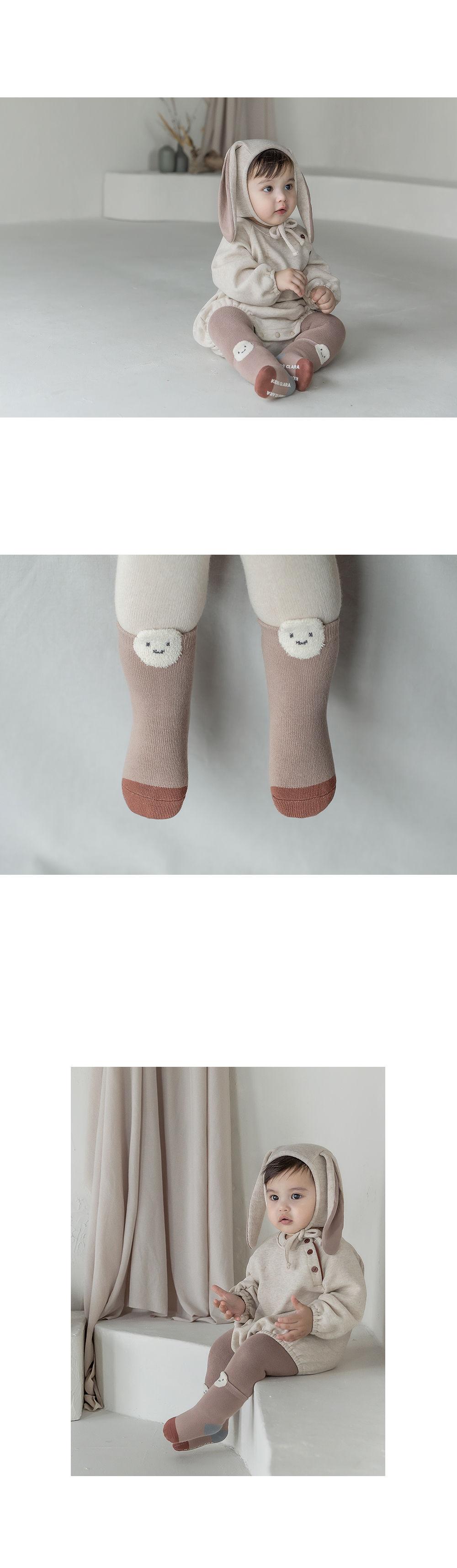 KIDS CLARA - Korean Children Fashion - #Kfashion4kids - Raki Baby Socks [set of 5] - 5