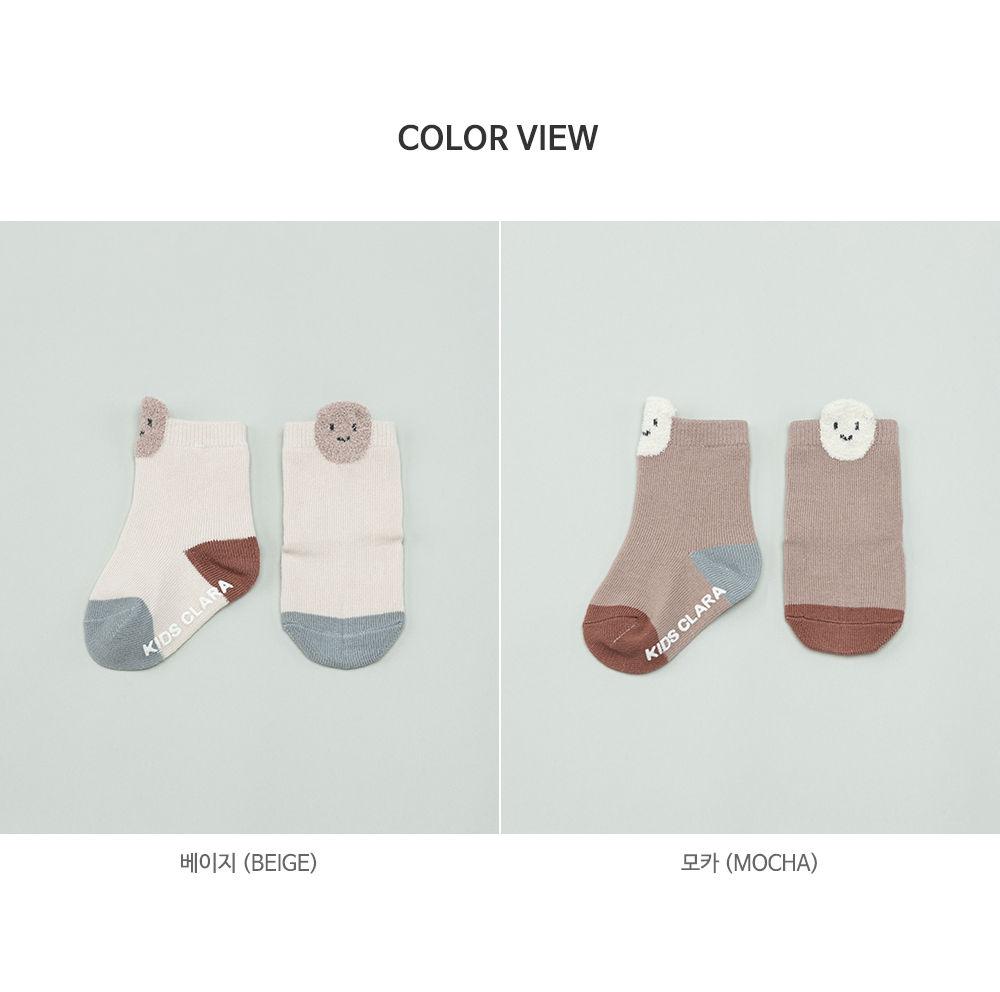 KIDS CLARA - Korean Children Fashion - #Kfashion4kids - Raki Baby Socks [set of 5] - 7