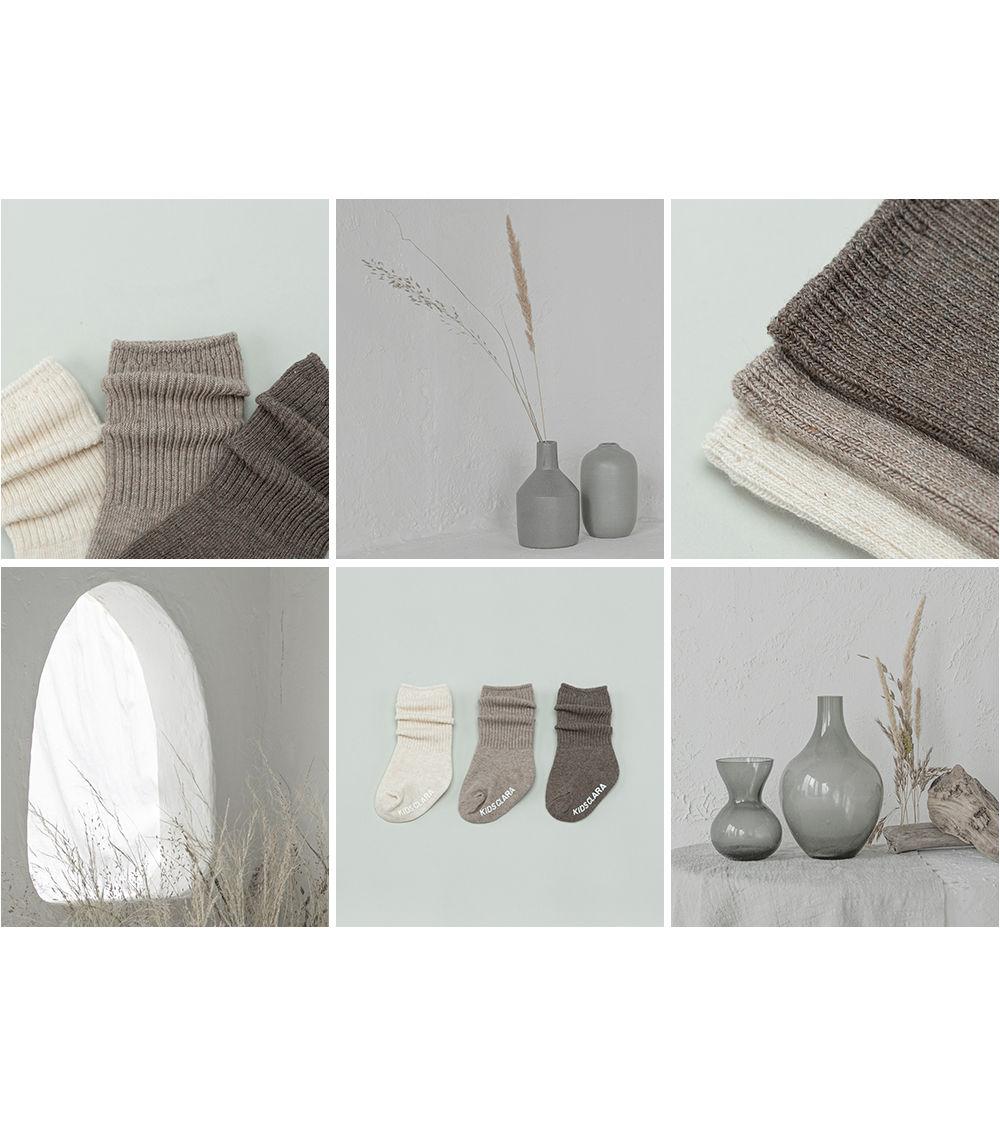 KIDS CLARA - Korean Children Fashion - #Kfashion4kids - Luco Warmer Baby Socks [set of 5] - 4
