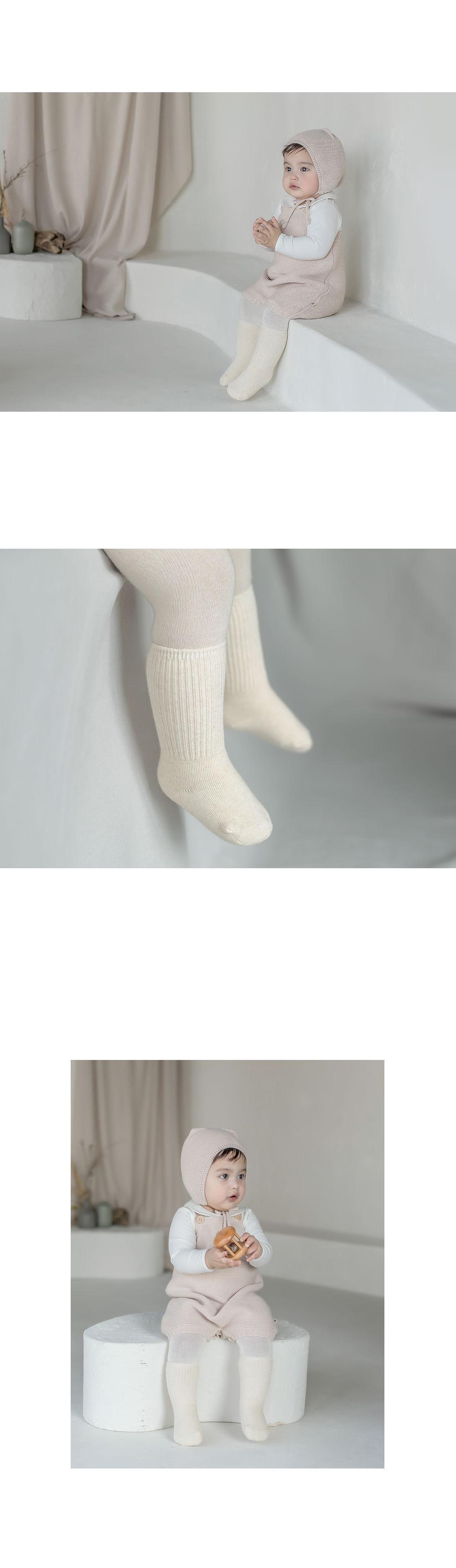 KIDS CLARA - Korean Children Fashion - #Kfashion4kids - Luco Warmer Baby Socks [set of 5] - 5