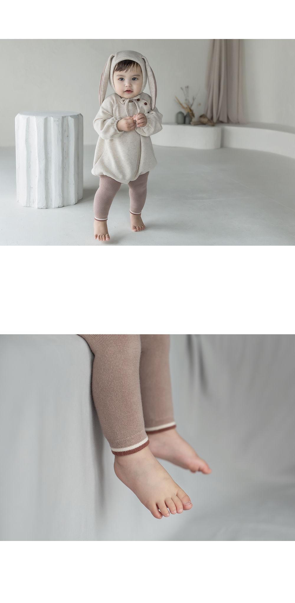 KIDS CLARA - Korean Children Fashion - #Kfashion4kids - Loli Winter Baby Leggings - 3