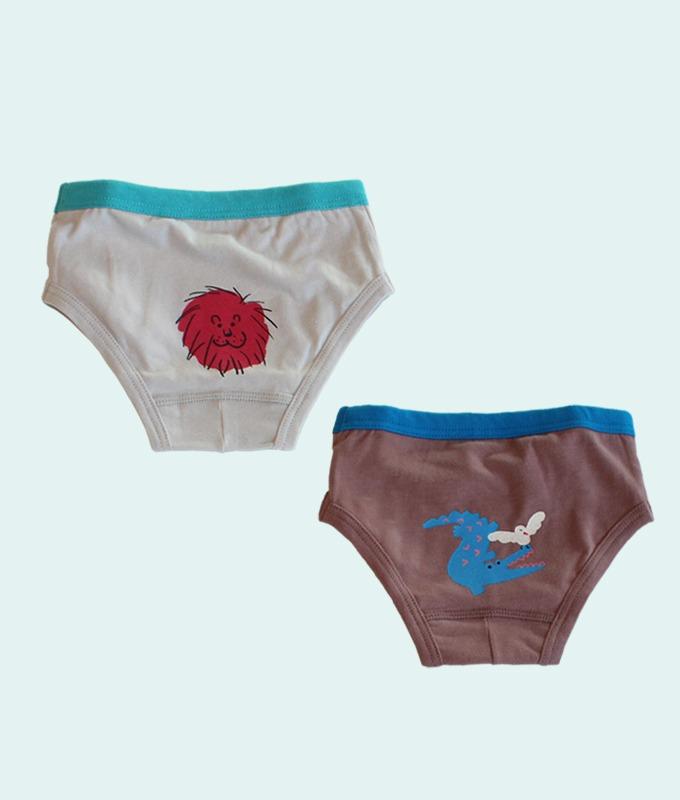 KOKACHARM - BRAND - Korean Children Fashion - #Kfashion4kids - Jungle Boys Underwear [set of 2]