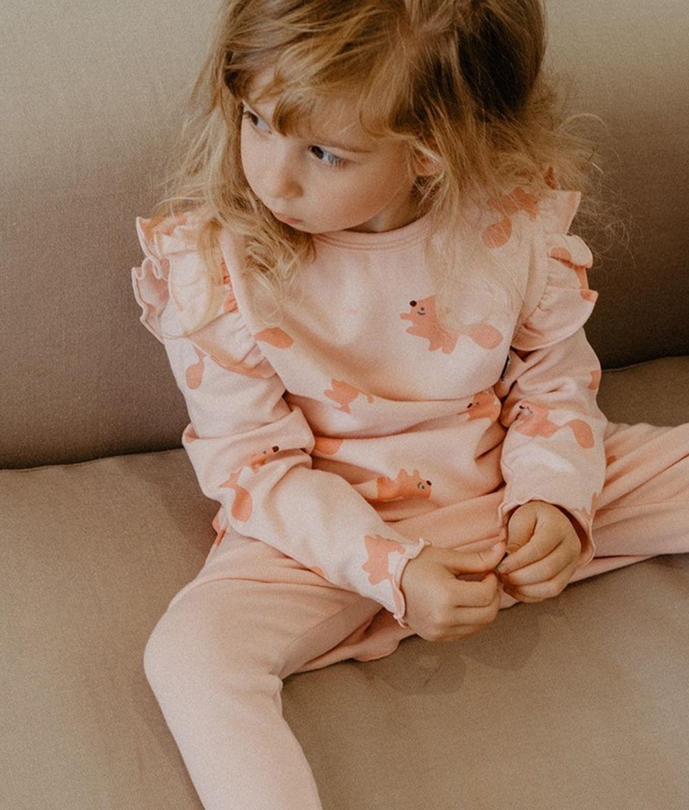 KOKACHARM - BRAND - Korean Children Fashion - #Kfashion4kids - Squirrel Dress Set