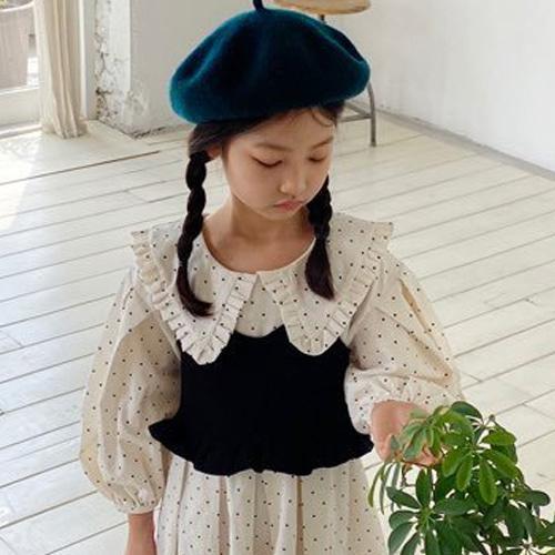 LOVE ROSIE - BRAND - Korean Children Fashion - #Kfashion4kids - Crop Black Bustier with Mom