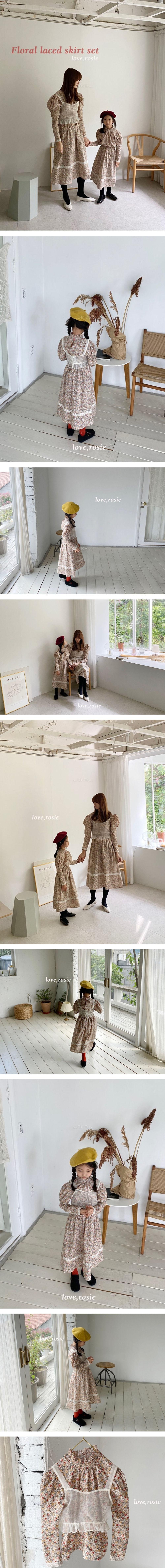 LOVE ROSIE - Korean Children Fashion - #Kfashion4kids - Crop White Bustier with Mom