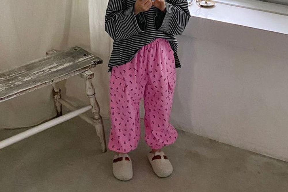 LOVE ROSIE - BRAND - Korean Children Fashion - #Kfashion4kids - Pink Cargo Pants