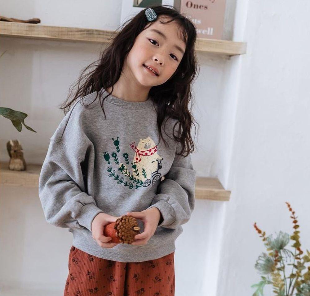 MILK POWDER - Korean Children Fashion - #Kfashion4kids - Bear MTM